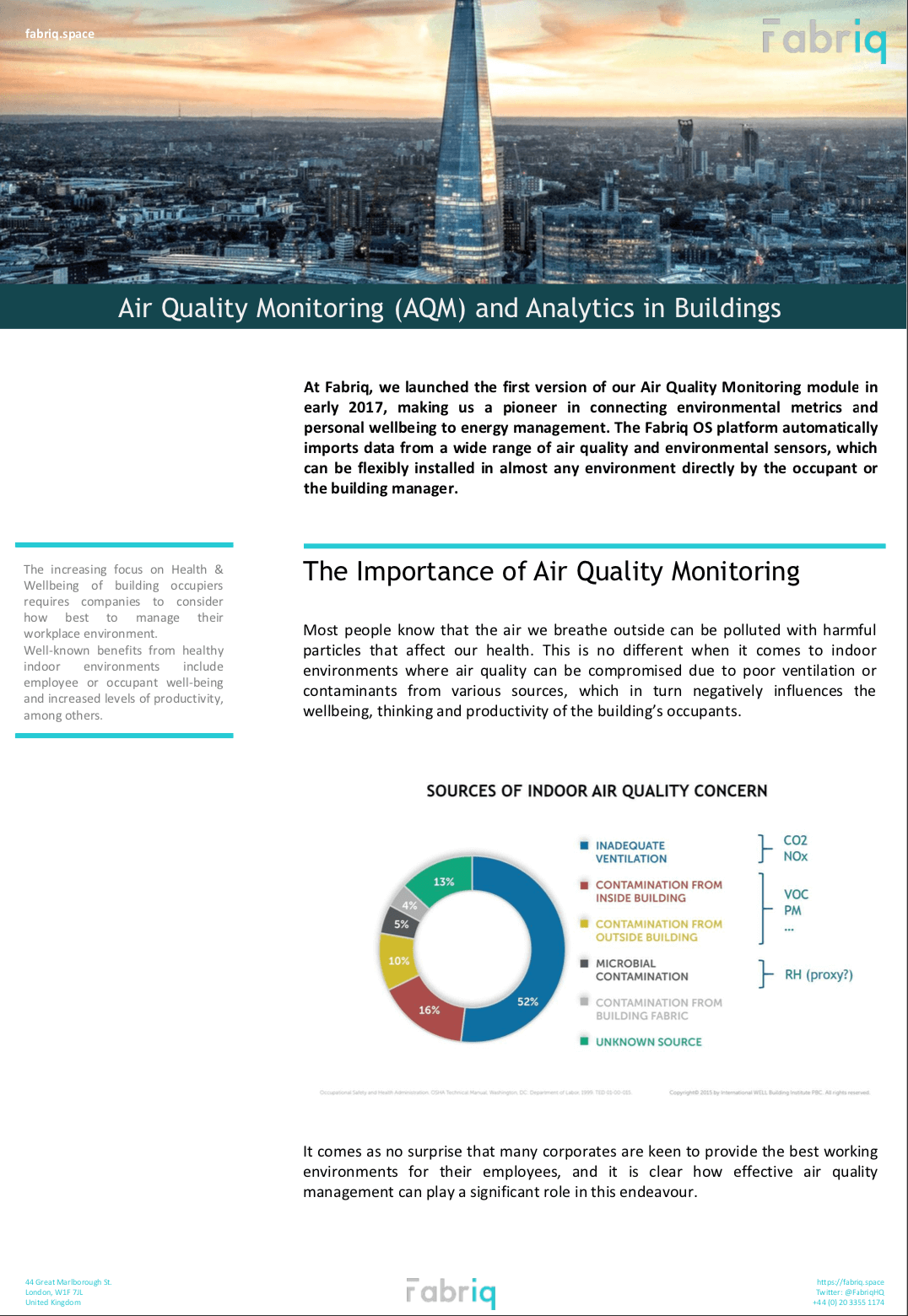 Air Quality Brochure