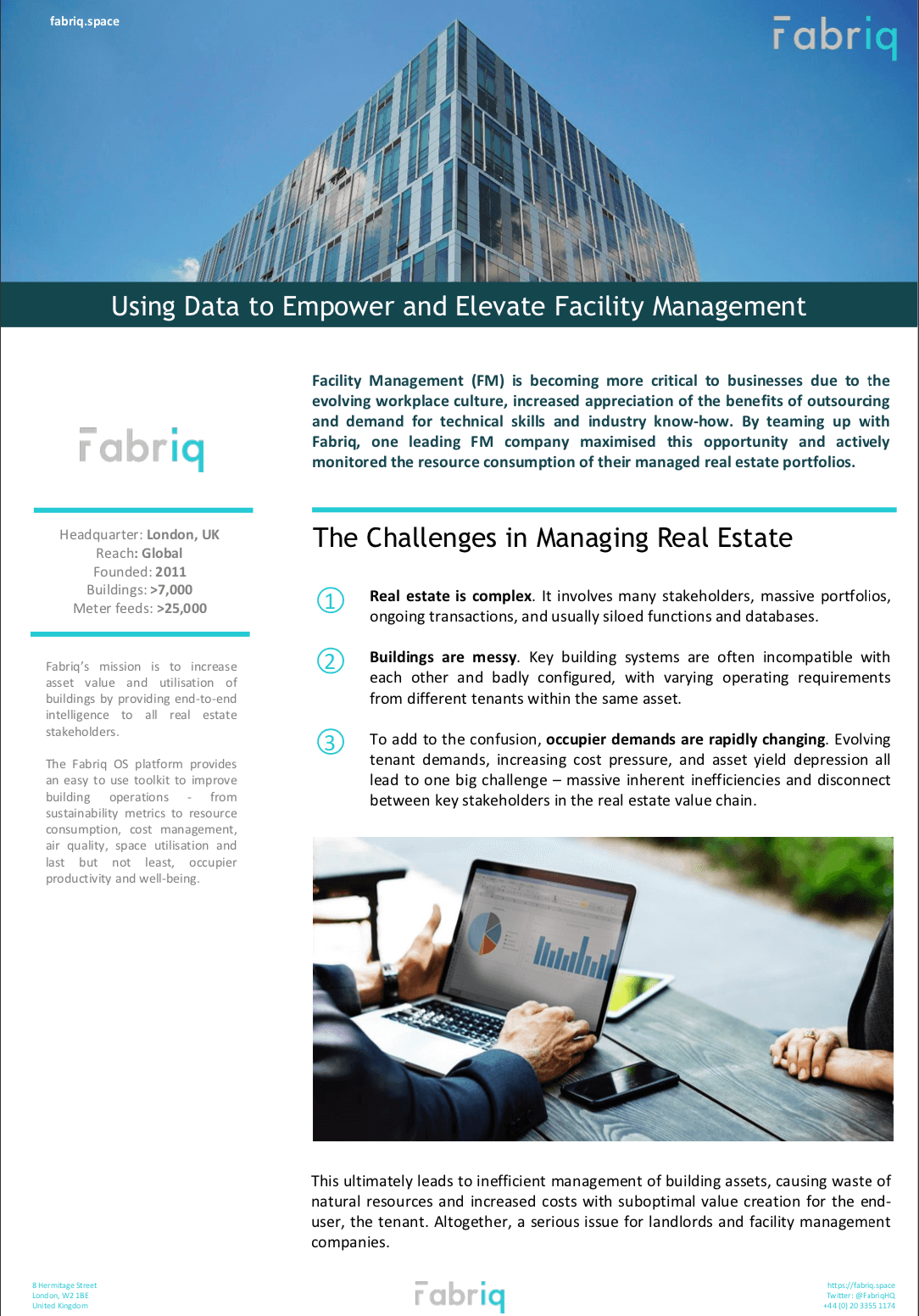 Facility Management Case Study