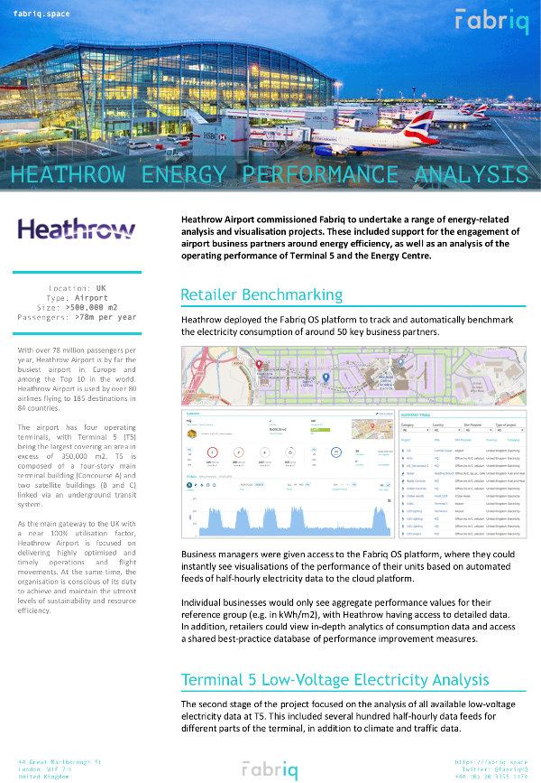 Heathrow Brochure